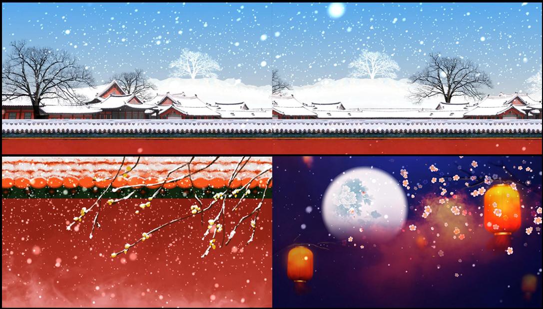 配乐成品 雪落下的声音