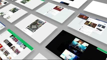 电子商务互联网企业宣传展示实拍视频素材