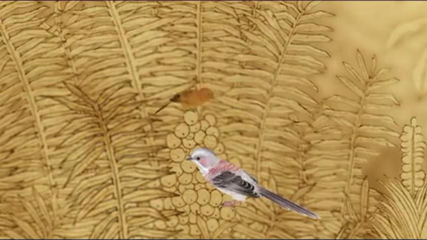 森林鸟水墨动画