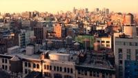 美国曼哈顿城市夜景