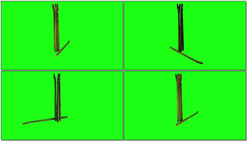 绿屏抠像芦笋