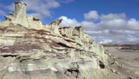 美国沙土风化自然风光视频素材