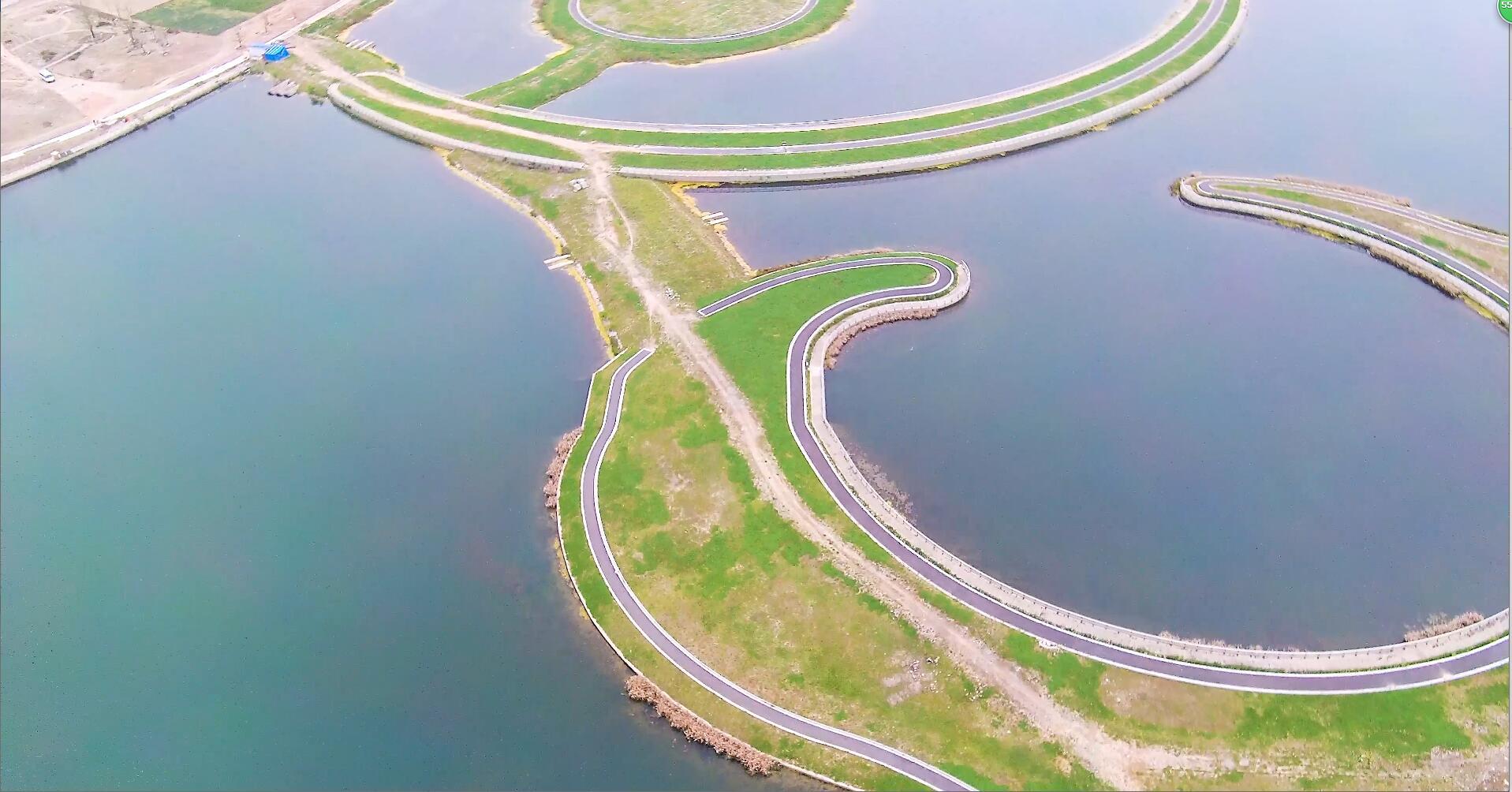 上海绿地生态湖泊规划建设休闲公园