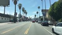 美国好莱坞街拍视频素材