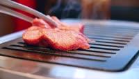 自助烧烤烤肉视频素材