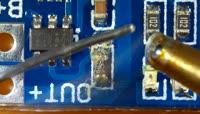 电子元器件拆卸视频素材