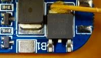 拆电子元件视频素材