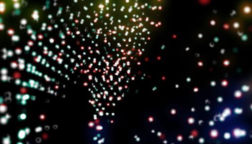 粒子背景视频素材