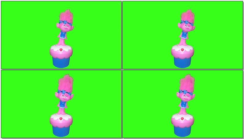 绿屏抠像音乐盒娃娃玩具