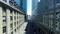 航拍城市地标建筑高清视频