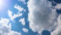 震撼天空延时太阳视频