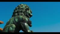 北京故宫石狮子