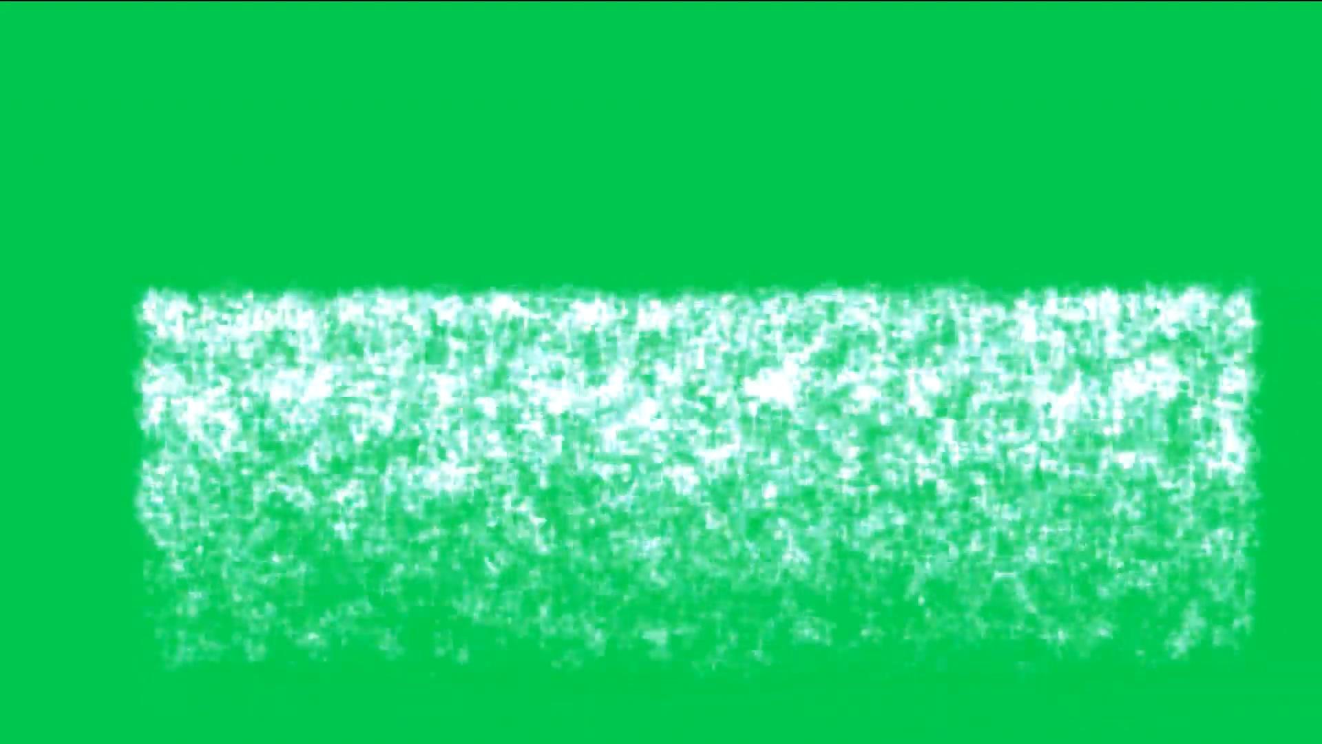 绿屏抠像闪金光的瀑布