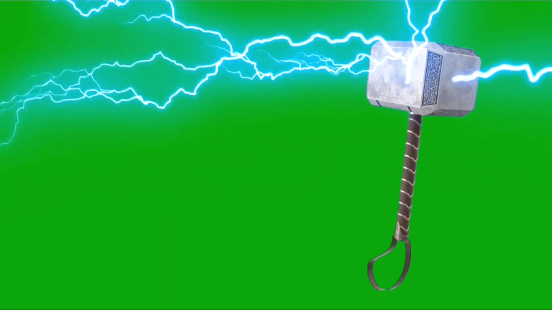 绿屏抠像雷神之锤