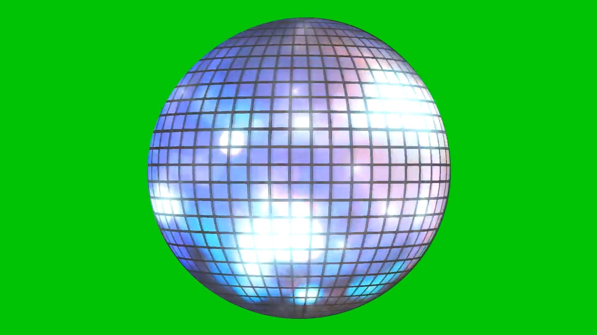 绿屏抠像舞厅迪斯科球