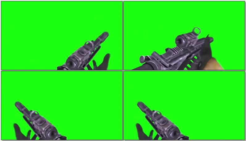 绿屏抠像吃鸡游戏射击