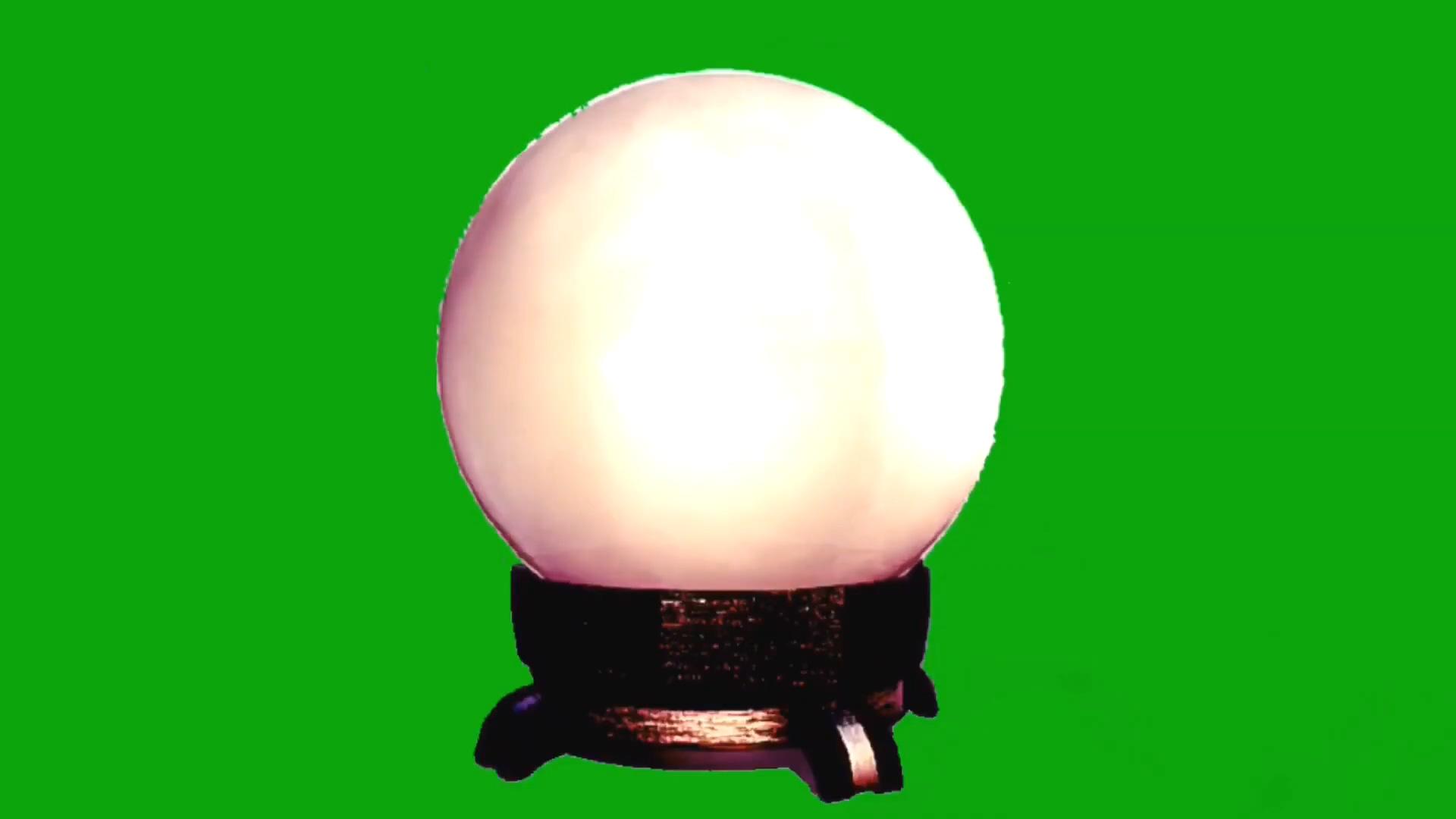 绿屏抠像魔法水晶球