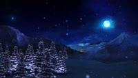 PR蓝色圣诞树