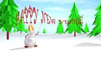 PR小雪人祝你2016新年快乐