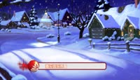 PR圣诞彩球装饰字幕导条