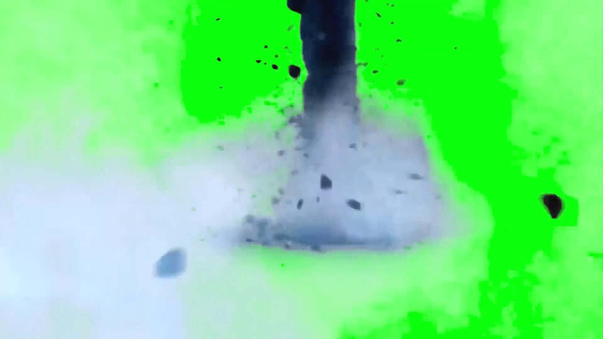 绿屏抠像龙卷风
