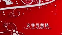 PR白色剪纸圣诞节