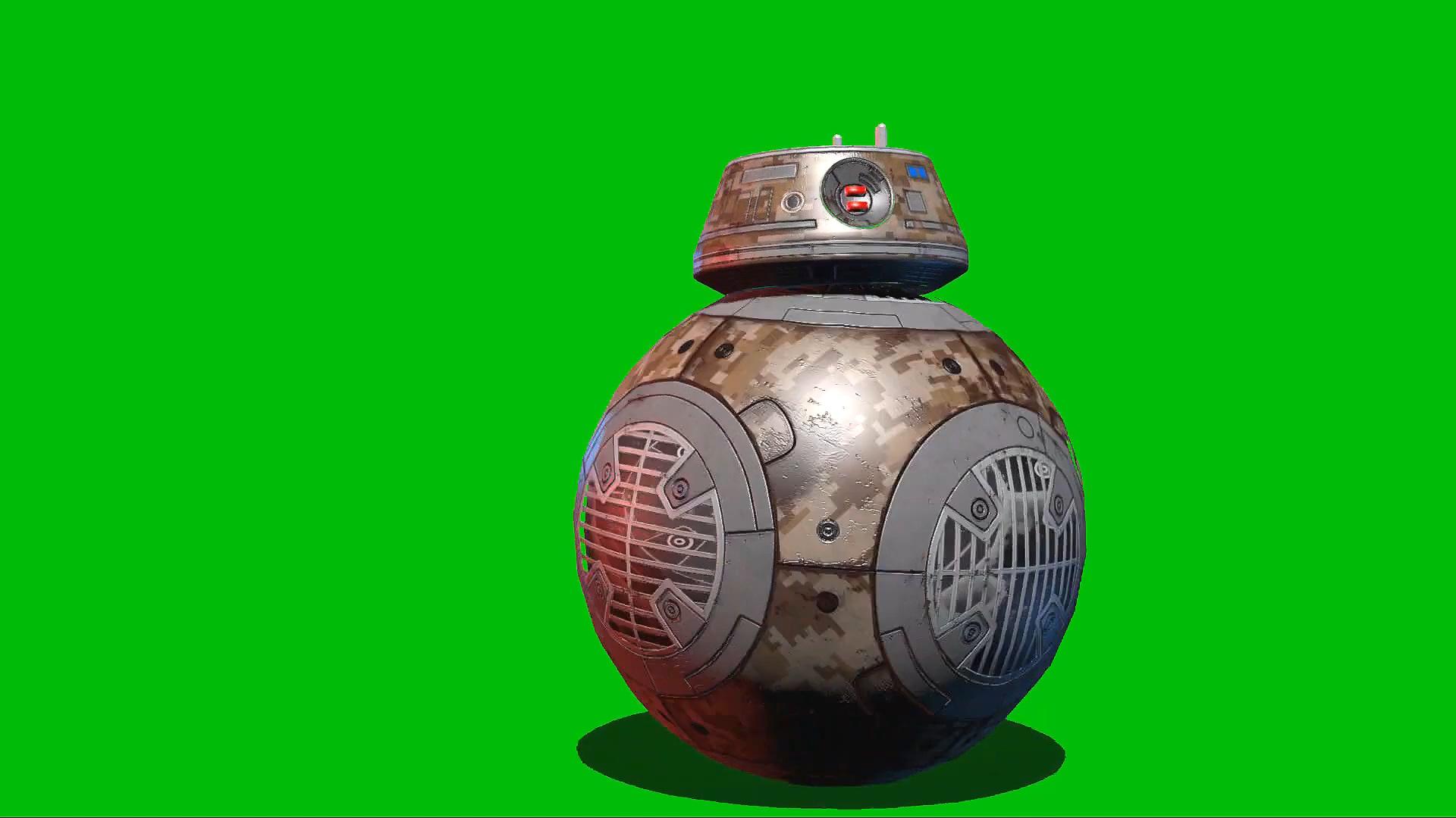 绿屏抠像BB\-9机器人