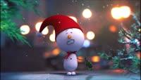 PR可爱圣诞小雪人