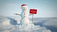 PR圣诞搞怪雪人