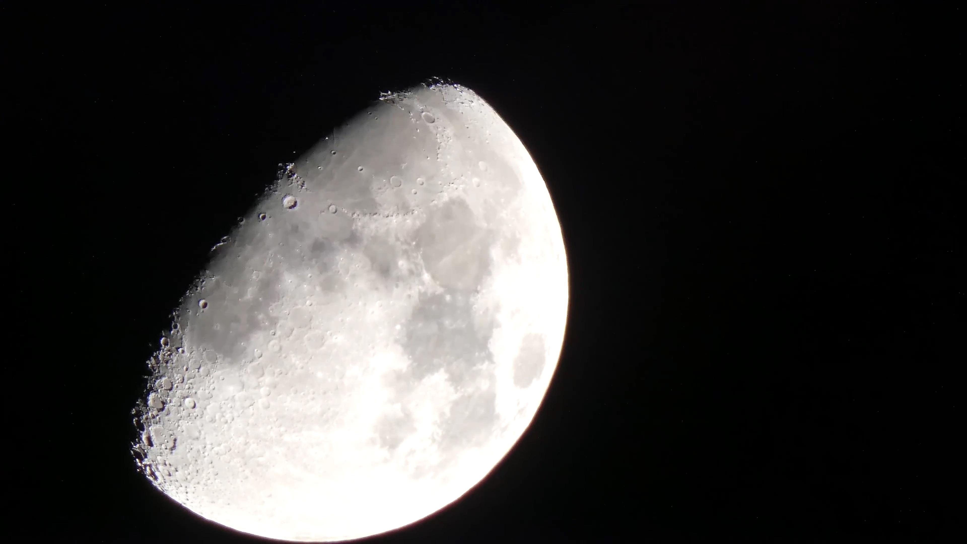 月球 月亮 实拍