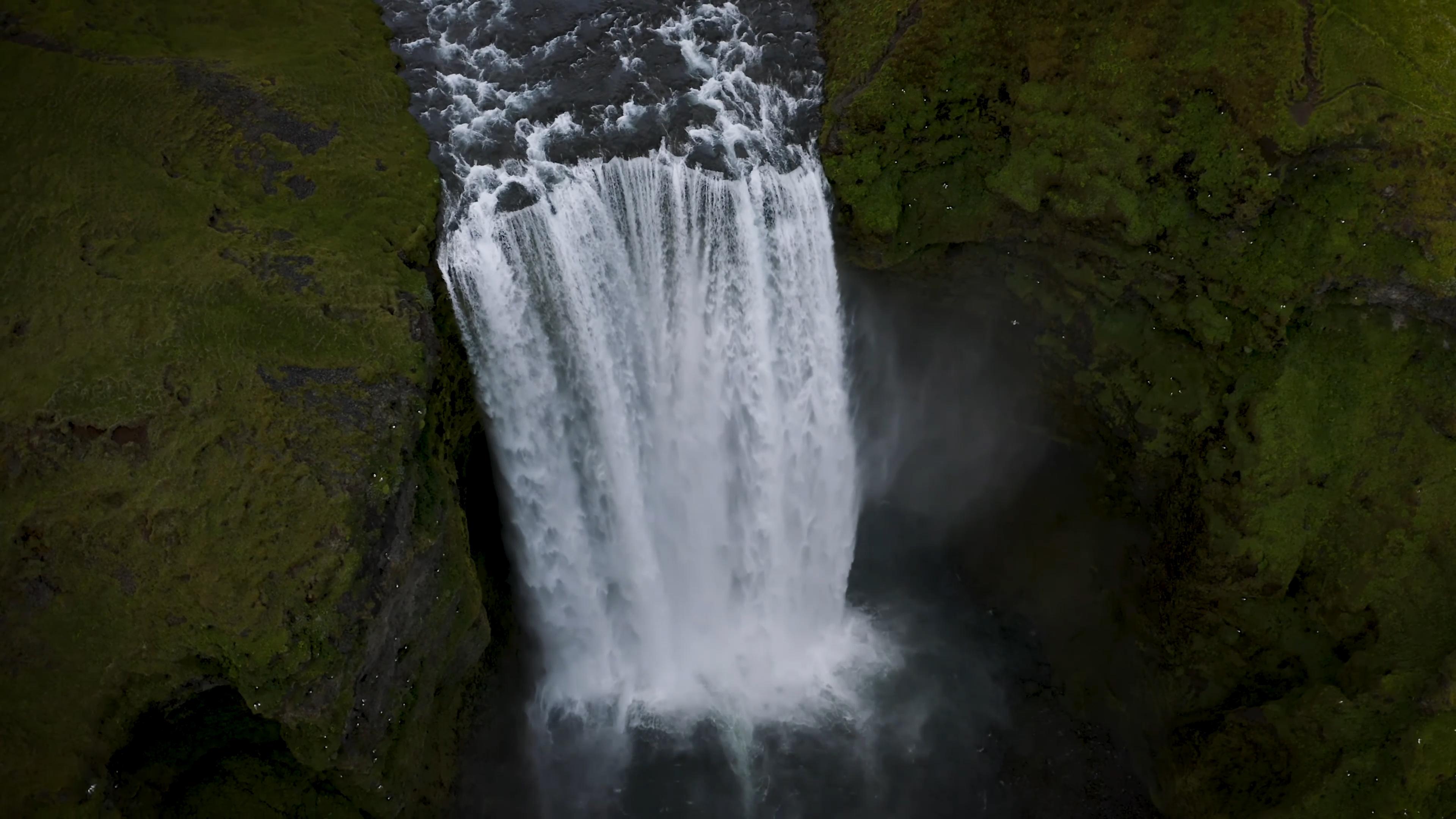 冰岛美景 冰岛 冰岛风景 高山流水 冰川 河流 峡谷 地理
