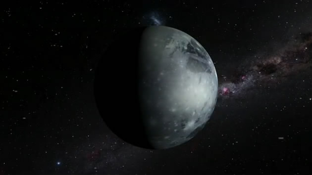 太空中的行星