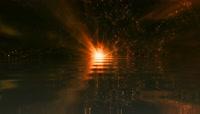 粒子水面散射背景