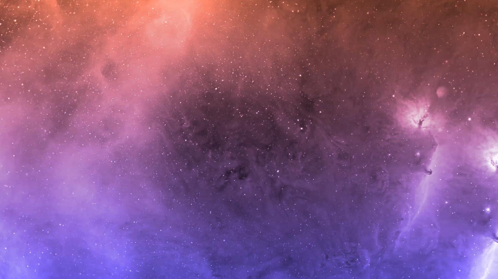 粒子星空宇宙旋转特效背景