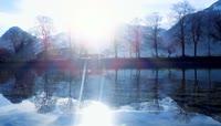 山川河流湖泊自然风光视频素材