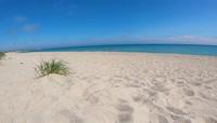 海边沙滩实拍视频素材