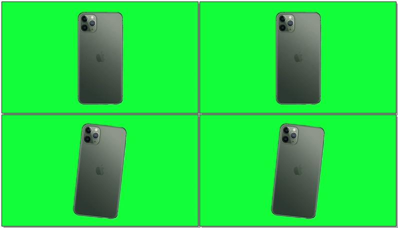 绿屏抠像iPhone 11手机
