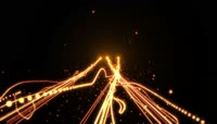 上升粒子光线