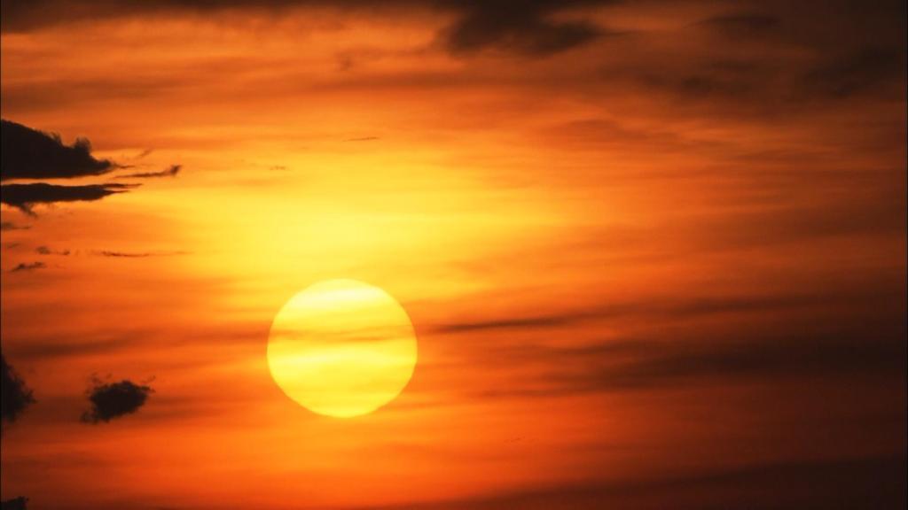 日出 太阳缓缓升起