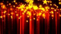 星星粒子风格开场