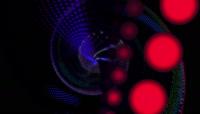粒子流光风格动感电音舞曲酒吧夜场演艺表演开场转场背景