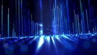 彩色粒子风格动感电音舞曲酒吧夜场演艺表演开场转场背景