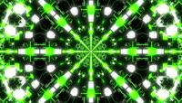 绿色流光风格动感电音舞曲酒吧夜场演艺表演开场转场背景