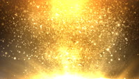 金光闪闪耀眼流光风格梦幻光效视频特效后期素材