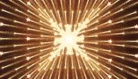 金色流光风格动感激光柱酒吧夜场演艺表演开场转场背景