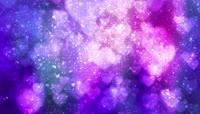 粒子风格心形表白唯美背景