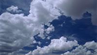 天空白云流动恬淡美好风格转场环保主题背景素材