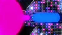 彩色流光风格动感电音舞曲酒吧夜场演艺表演开场转场背景2
