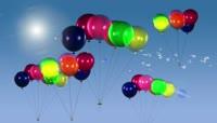 卡通风格气球童真后期特效视频素材