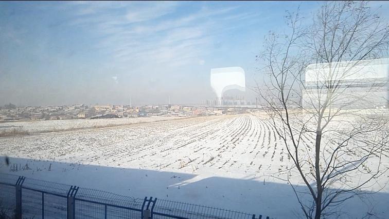 北方的冰天雪地
